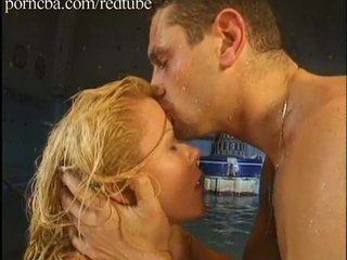 Blondie gets fucked anally at one's disposal the conjoin