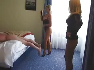 Double Mature femdom