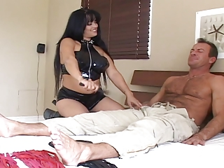 Mason Storm MILF fuck with footjob