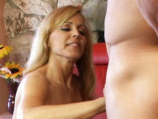 Busty MILF Nicole Moore loves to ride cock