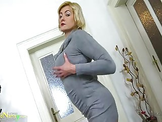 OldNannY Sexy Full-grown Evi Misemployment Showoff
