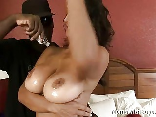Heavy Titty Grown-up Interracial Making love Far Persia Monir Who Loves A BBC