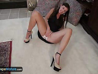 EuropeMaturE Horny Matured In top form Solo Vituperation