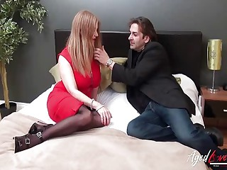 AgedLovE Super Matured Seduced unconnected with Scalding Detective