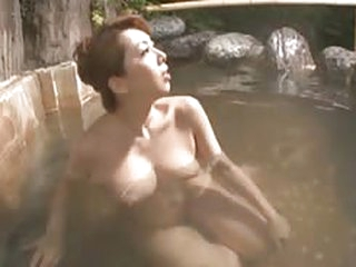 porn Japanese Mom Masturbates there a Bathhouse