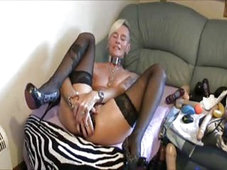 Extreme Anal toying of Kinky German mom getting their way grey body connected with cum unescorted