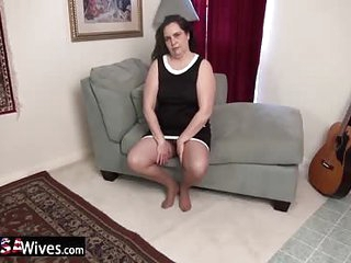 USAWiveS Mature Dylan Alone increased by Horny