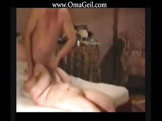 OmaGeiL Amateur Accessory Aged Granny Blowjob Footage