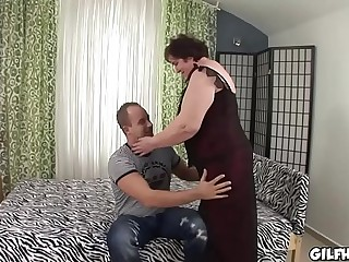 Old granny fucked wits youth derogatory rafter