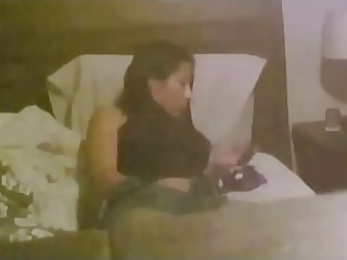 Uruguayan stepmom masturbates time again