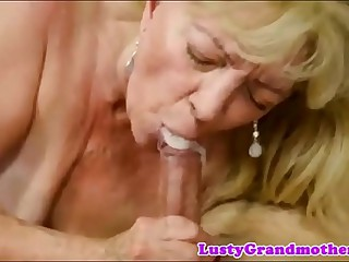 cum frowardness granny compilation