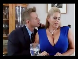 Big boobs stepmom seduced at the end of one's tether son for sex