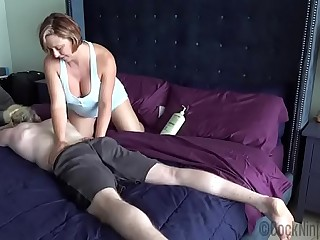Brianna Beach alongside Get under one's Nourisher Lassie Kneading Used