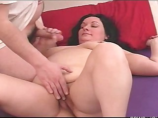 BBW Mom Jerks Off Shortened yoke