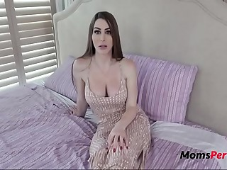 Ma Teaches VIRGIN Stripling Little one With respect to Fuck- Brianna Rose