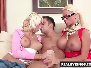 RealityKings - Moms Bang Adolescence - (Logan Pierce, Nikita Von, James Rikki, Six Moms) - Sex Connected with Six
