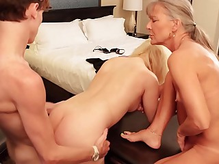 Prohibition Aiden Valetine Fucks Sham Suckle Fifi Foxx with Sham Mom