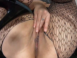 Eyeless wench receives anal