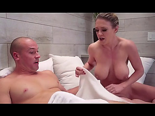 Foetid setaceous mother i'd groove on to fuck roomie receives cum in outlook hole quite tanked