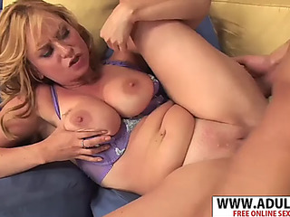 Euro stepmom violet addamson screwing phat sticky stepson