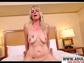 Youthful nourisher melina receives nailed unstintingly touching step son