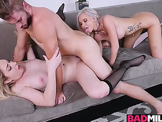 Zoe parker rides her boyfriends outstanding dong with astrid star managing her