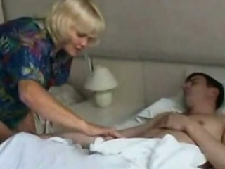 Hot progenitrix drilled wits her lady