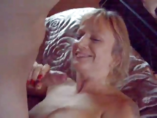 Amateur Brit MILF With Neighbours Laddie - Hubby Films!