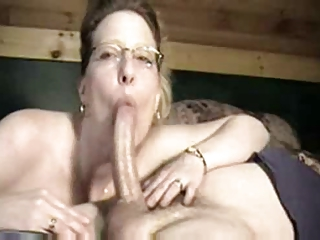 Housewife amazing Blowjob mainly  neighbor