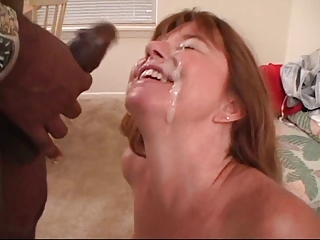 Thick Interracial Facial
