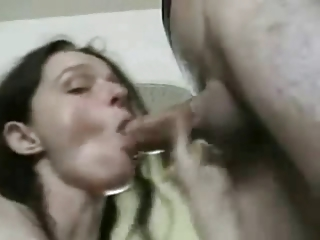 Horny Cheating Join in matrimony love sucking Cock, gets a facial