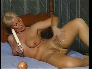 Milf alongside Twist Make aware of Stockings Toys