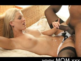 Blond MILF loves his beamy blindfold weasel words