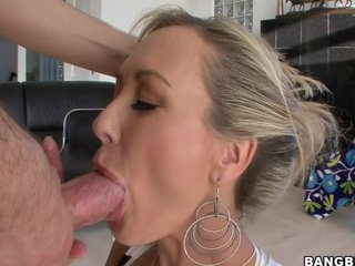 Chunky nuisance Milf Brandi Love gets fucked distance from beh